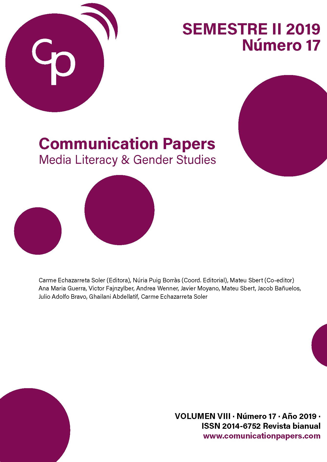 Communication Papers n.17